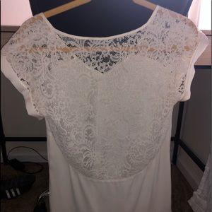 Express Tops - Silk lace skirt